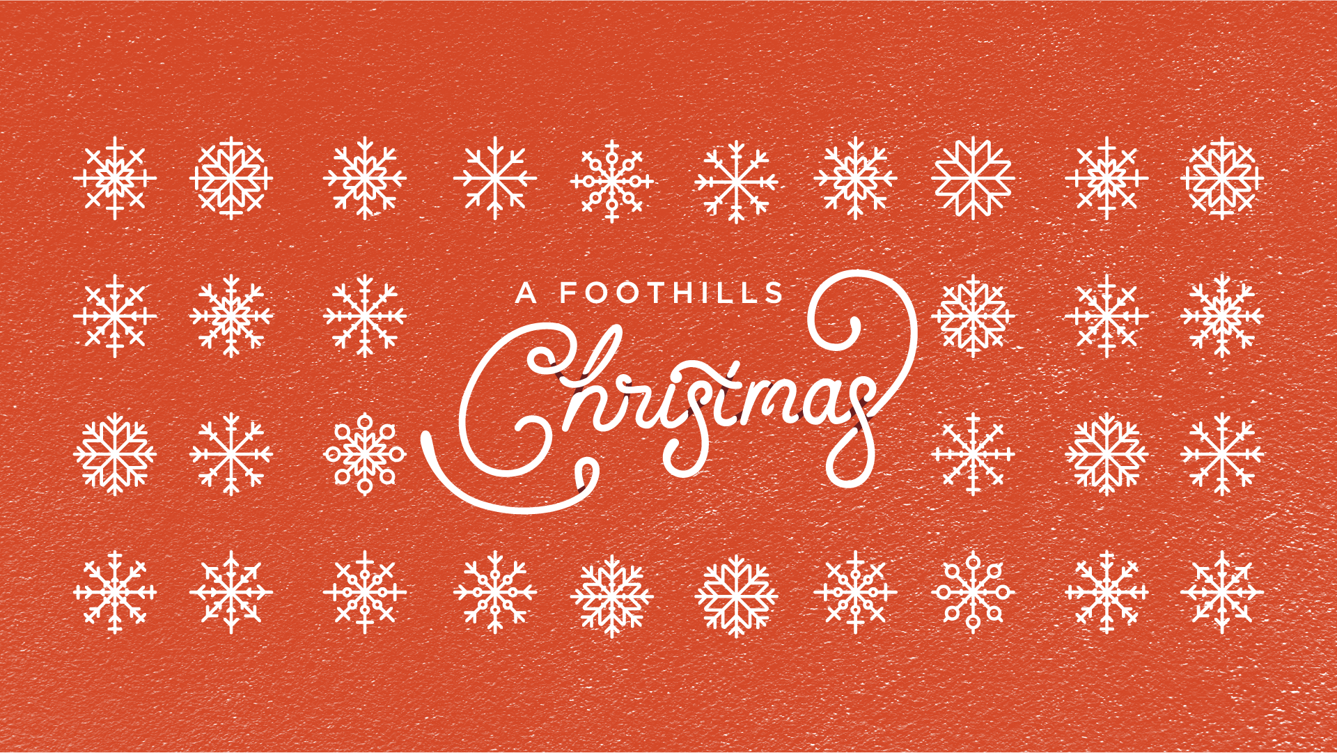 a Foothills Christmas