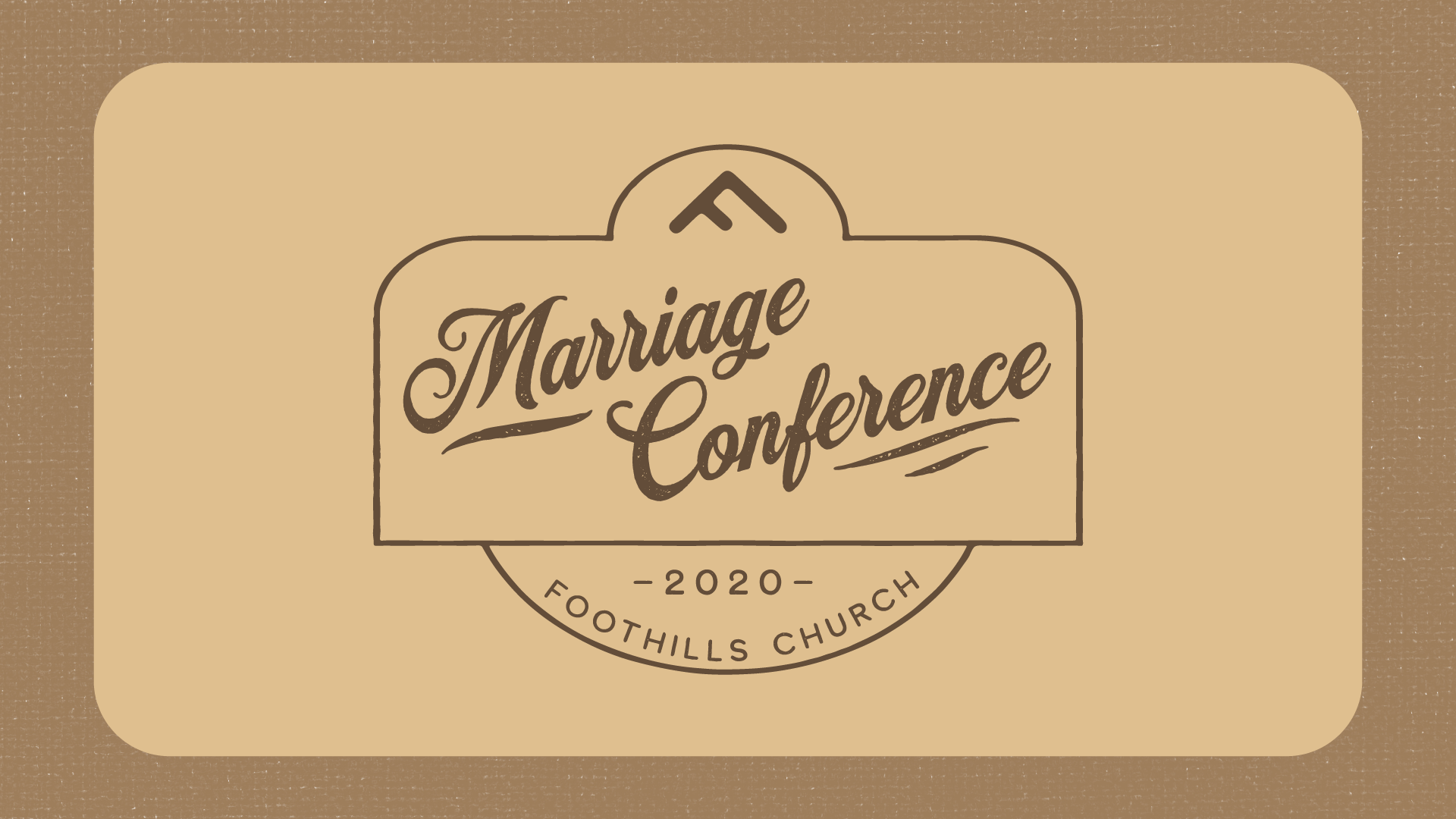 Marriage Conf